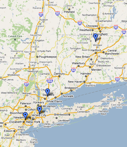 Airports In Connecticut Map Travel to and From New Haven | Yale College Undergraduate Admissions