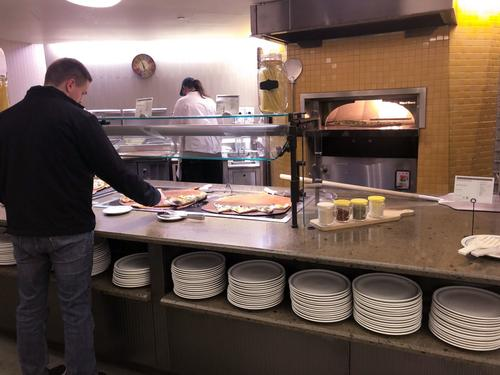 Stiles Dining Hall Pizza Oven