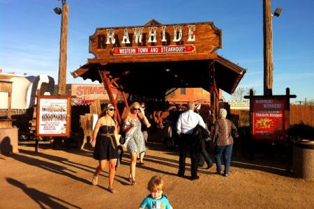 Rawhide Park in Arizona.