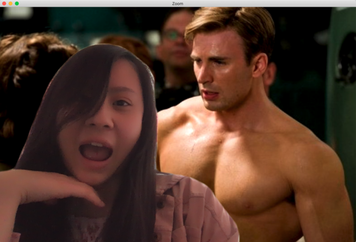 Cassandra and Chris Evans