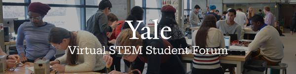 Virtual STEM Student Forum Banner