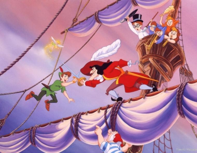 Peter Pan sword fite