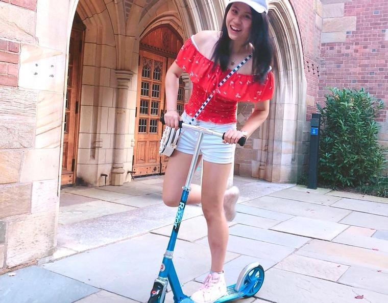 Cassandra on scooter