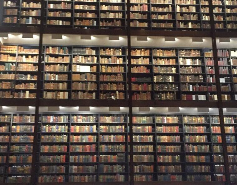 beinecke stacks