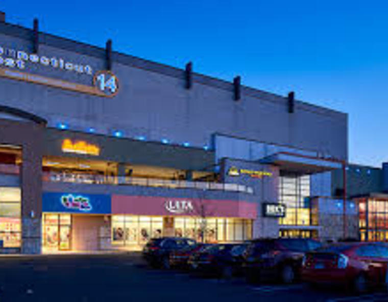 exterior of the Connecticut Post Mall