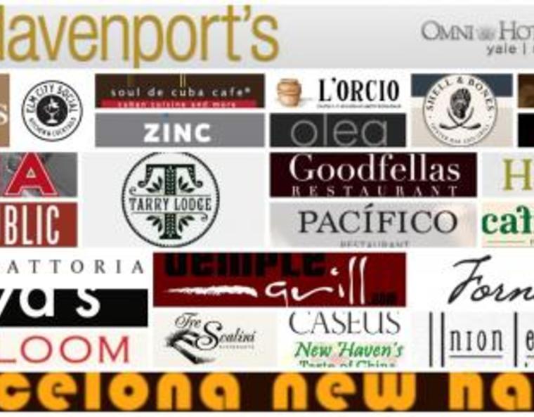 logos of New Haven restaurants