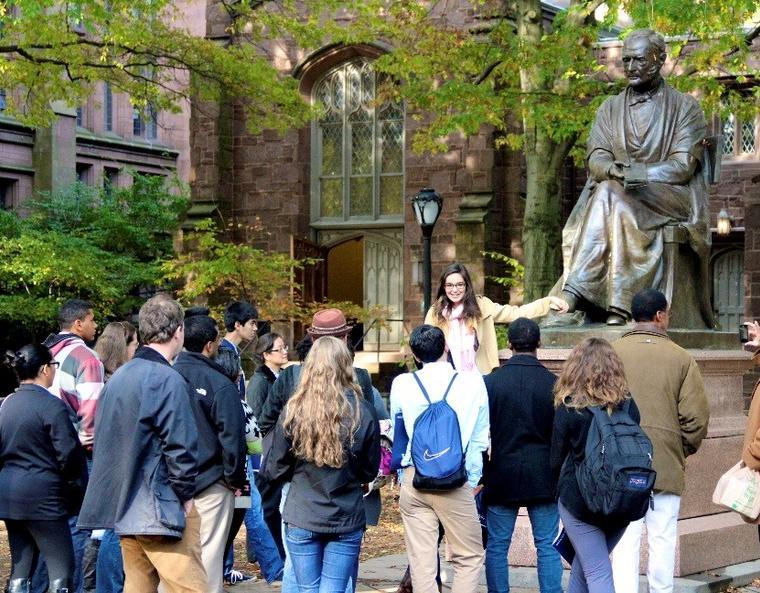 Yale University Guide Tour
