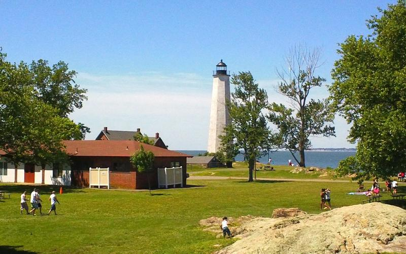 Summer at lighthouse point park