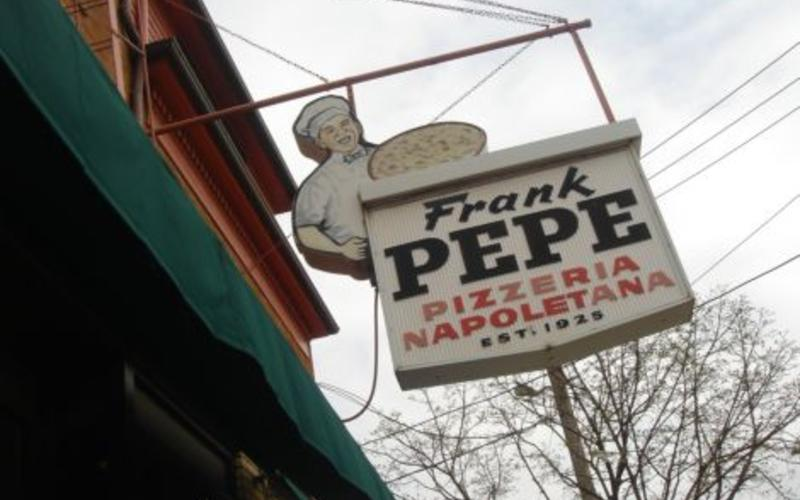 Franke Pepe's famous pizzeria.