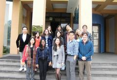 Participants of The Yale University New Asia Exchange Program.