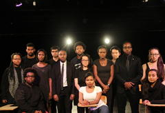 "The diverse cast and crew of ""Exception to the Rule""."