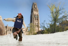 Pirate at Yale