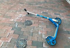 fallen scooter