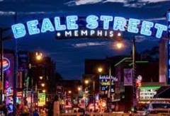 Memphis Beale Street sign