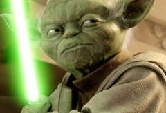 """Yoda, from the """"Star Wars"""" Series."""